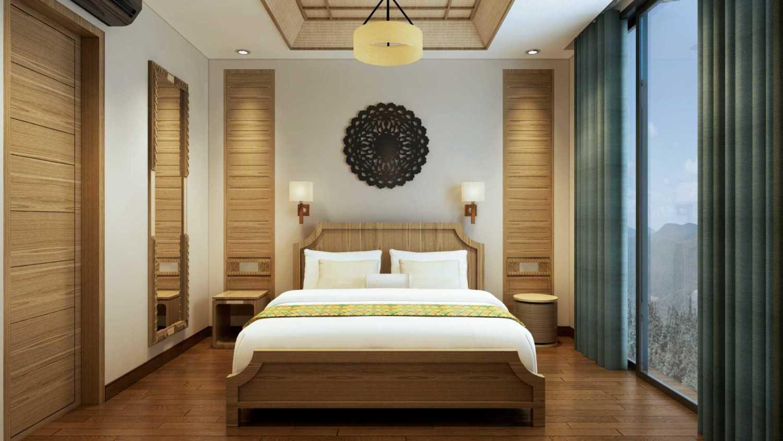 Foto inspirasi ide desain kamar tidur minimalis Hotel room oleh VIN•DA•TE di Arsitag