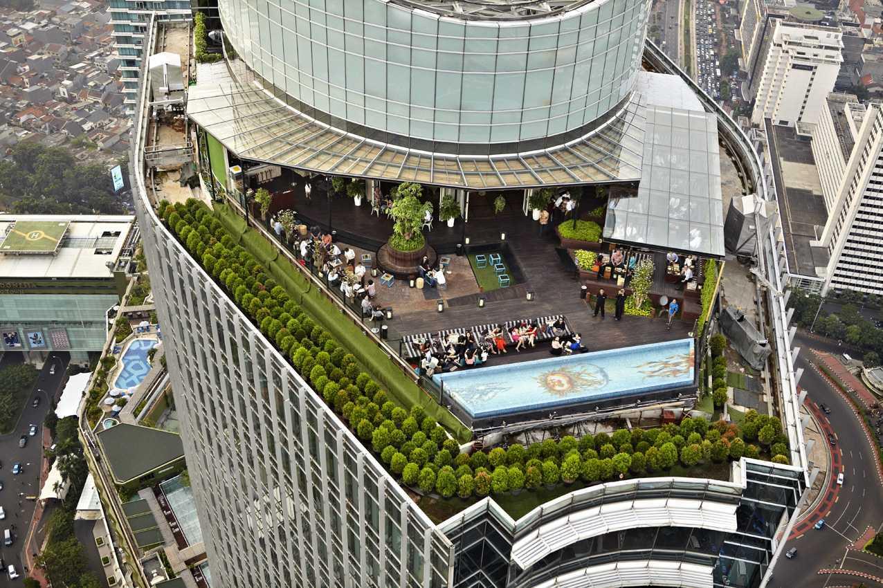 Willis Kusuma Architects Skye Jakarta, Indonesia Jakarta, Indonesia Bird Eye View Modern 15903