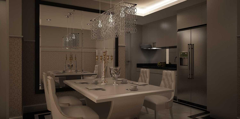 Foto inspirasi ide desain apartemen klasik Kitchen-pantry oleh Ian Theo di Arsitag