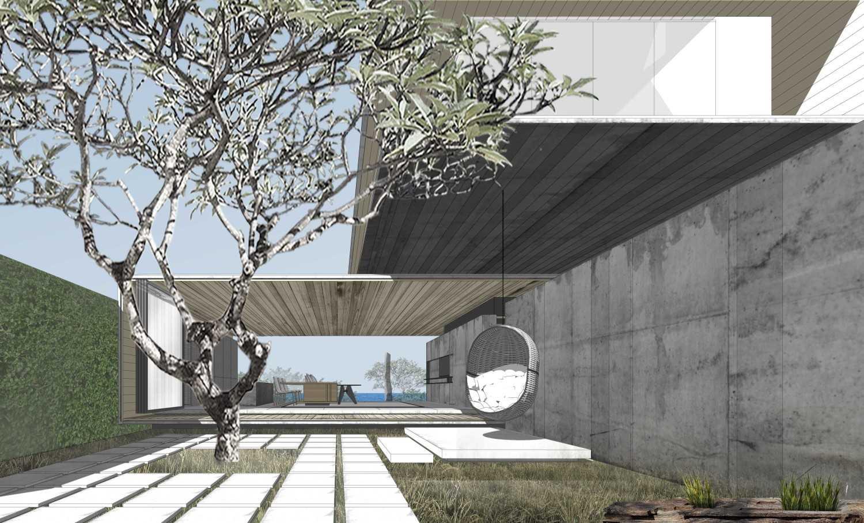 Foto inspirasi ide desain rumah kontemporer Arrival-edit oleh eben di Arsitag
