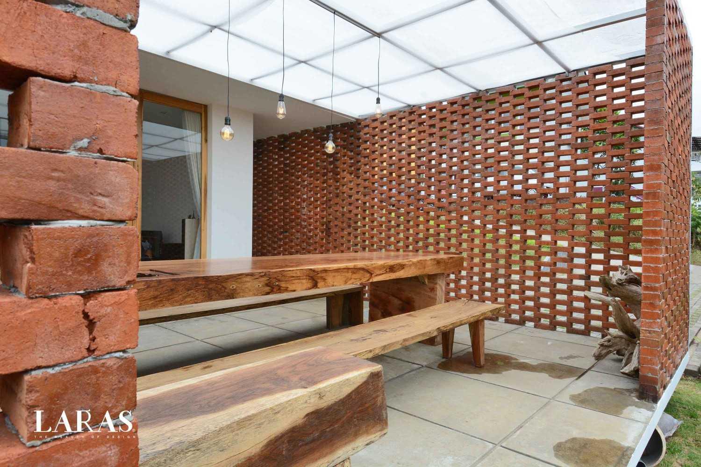 Eben White Perforated Brick House Bandung Bandung Dining Room Contemporary 29644