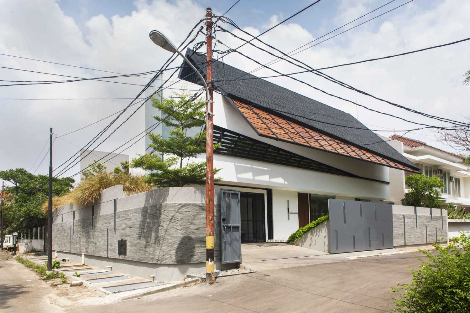 Mint-Ds Is House Kemang, South Jakarta Kemang, South Jakarta Side View Modern 16291