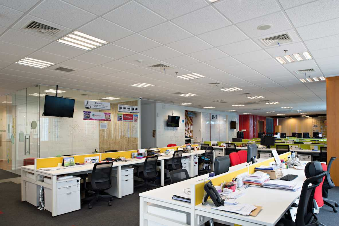 Pt Asa Adiguna Berniaga.com Menara Prima Ii Building Menara Prima Ii Building Working Area Minimalis 24519