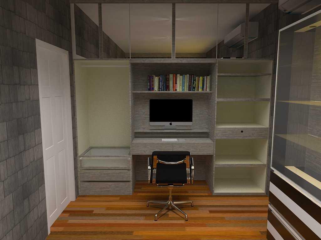 Foto inspirasi ide desain ruang belajar kontemporer Final7 oleh Arliocta Anggaravony di Arsitag
