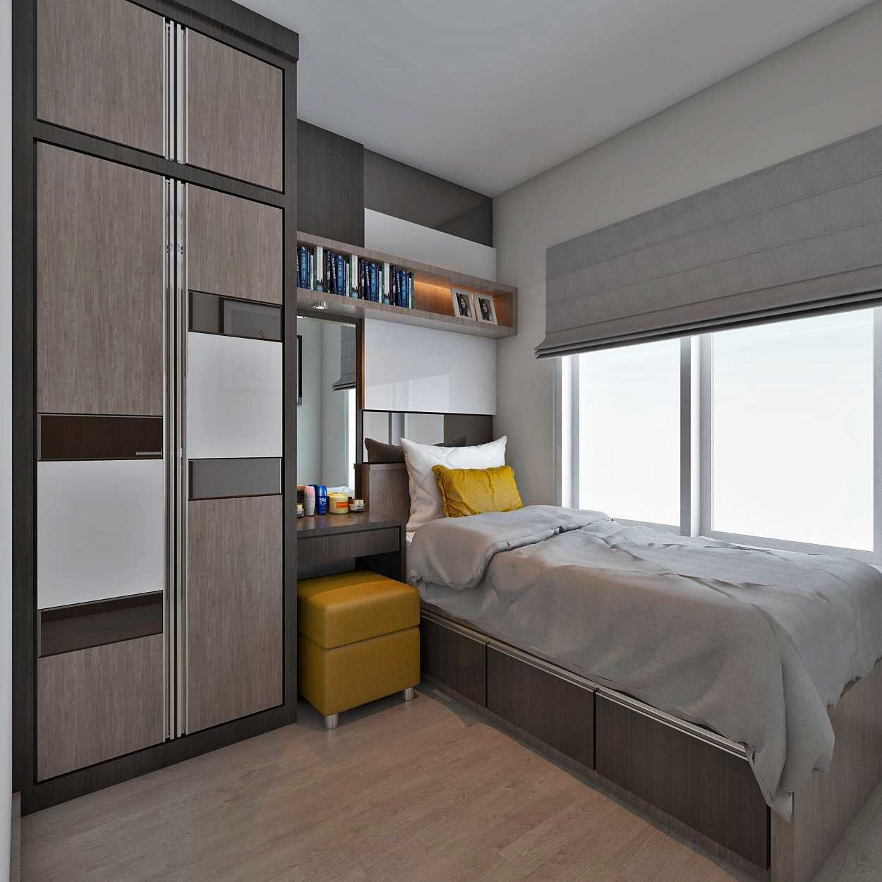 Habibullah Alfatih Condominium - Greenbay Pluit Jakarta, Indonesia Jakarta, Indonesia Kidroom-1 Kontemporer 35907