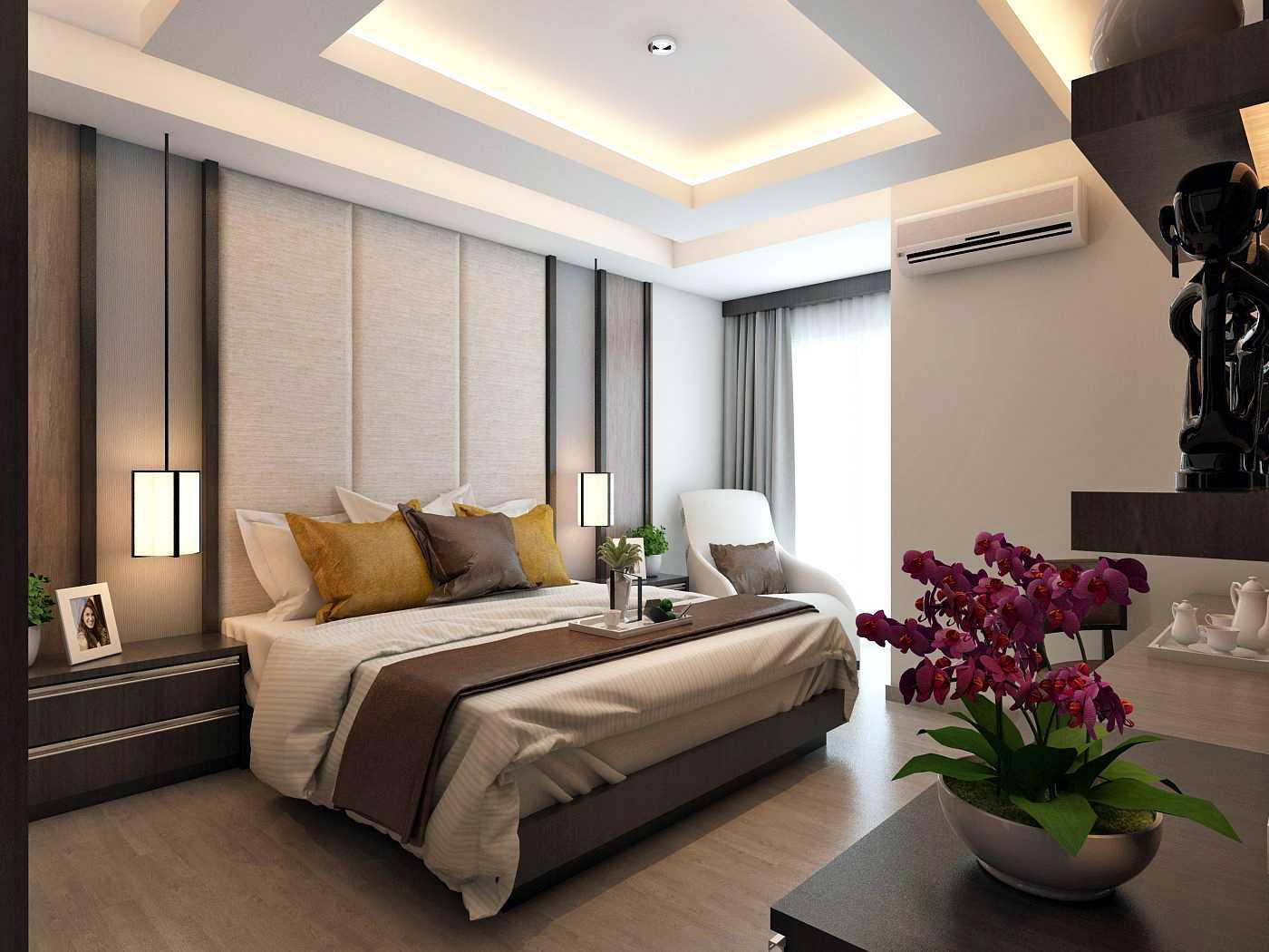 Habibullah Alfatih Condominium - Greenbay Pluit Jakarta, Indonesia Jakarta, Indonesia Master-Bedroom-2 Kontemporer 35909
