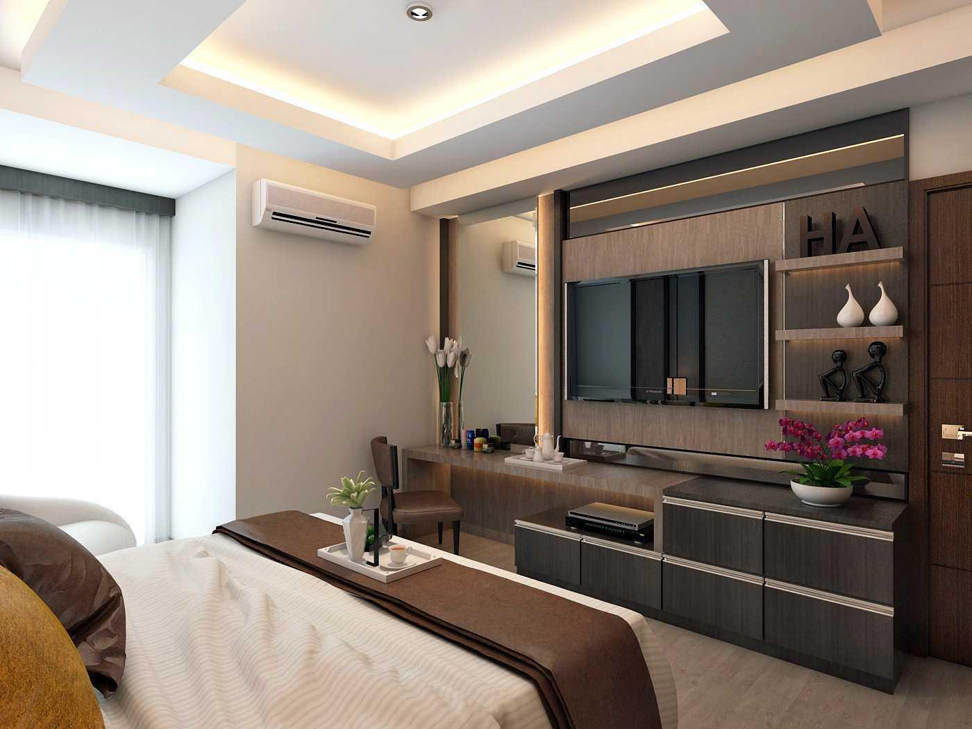 Habibullah Alfatih Condominium - Greenbay Pluit Jakarta, Indonesia Jakarta, Indonesia Master-Bedroom-5 Kontemporer 35911