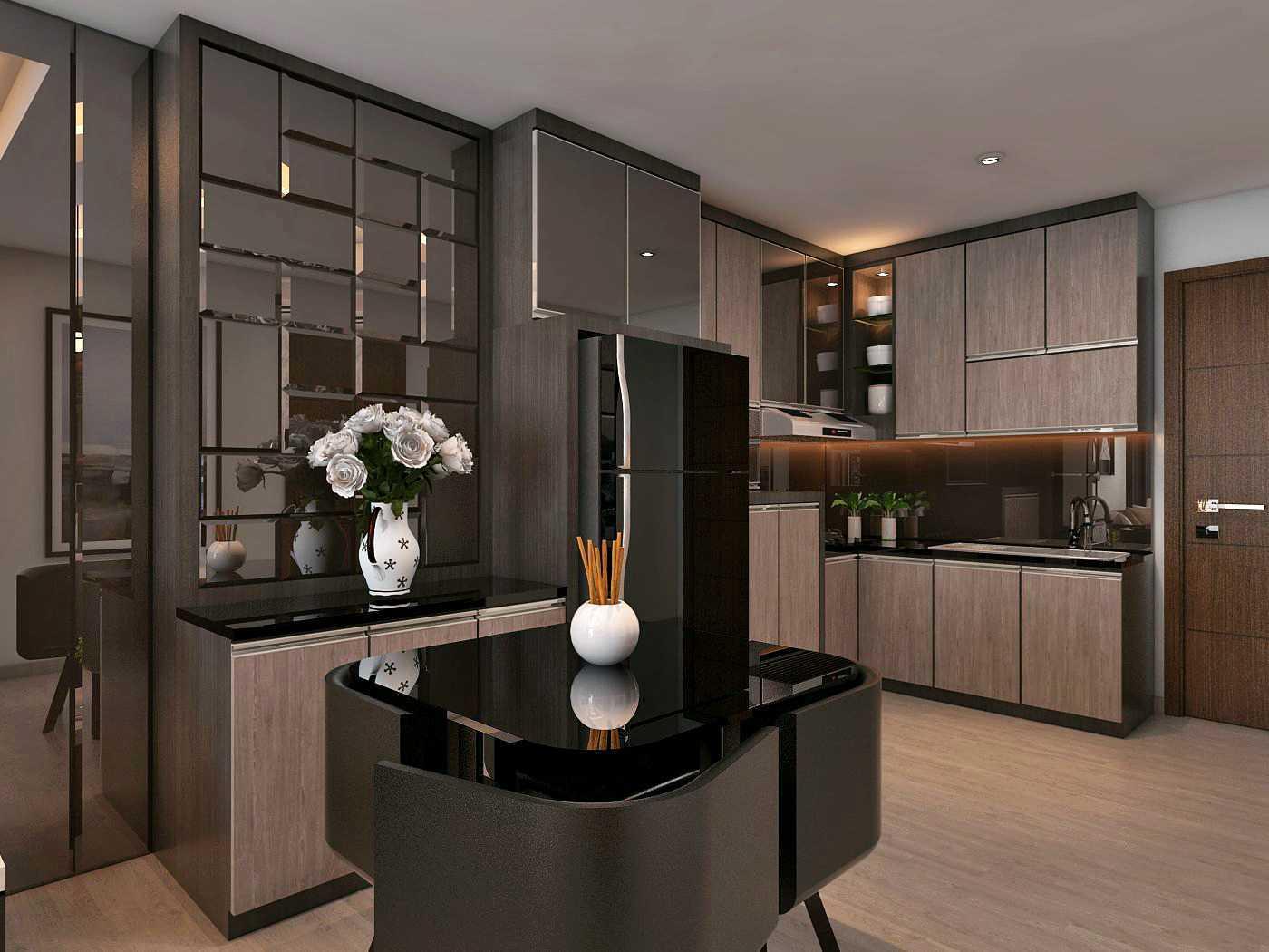 Habibullah Alfatih Condominium - Greenbay Pluit Jakarta, Indonesia Jakarta, Indonesia Dapur Kontemporer 35915
