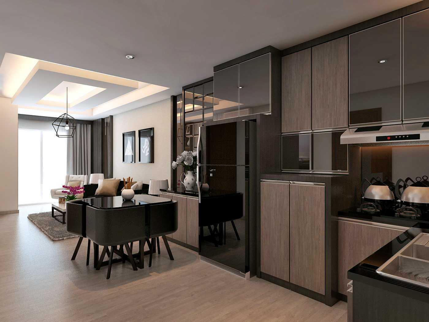 Habibullah Alfatih Condominium - Greenbay Pluit Jakarta, Indonesia Jakarta, Indonesia Dapur Kontemporer 35917