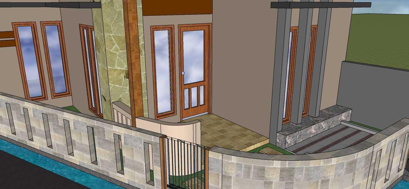 Afina Rahmani Design And Built Private House - Bogor Ciomas, Bogor Ciomas, Bogor Perspektif2 Minimalis 24044
