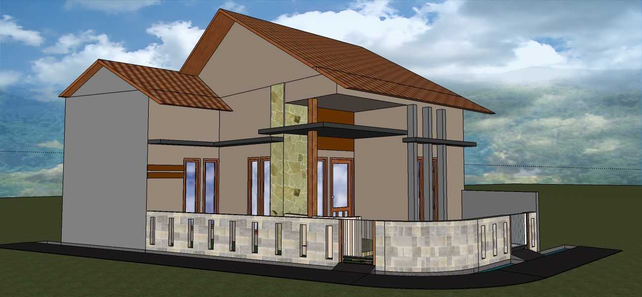 Afina Rahmani Design And Built Private House - Bogor Ciomas, Bogor Ciomas, Bogor Perspektif4 Minimalis 24045