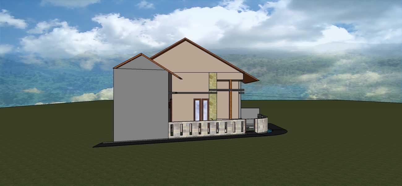 Afina Rahmani Design And Built Private House - Bogor Ciomas, Bogor Ciomas, Bogor Tampak-Samping-Kiri Minimalis 24048