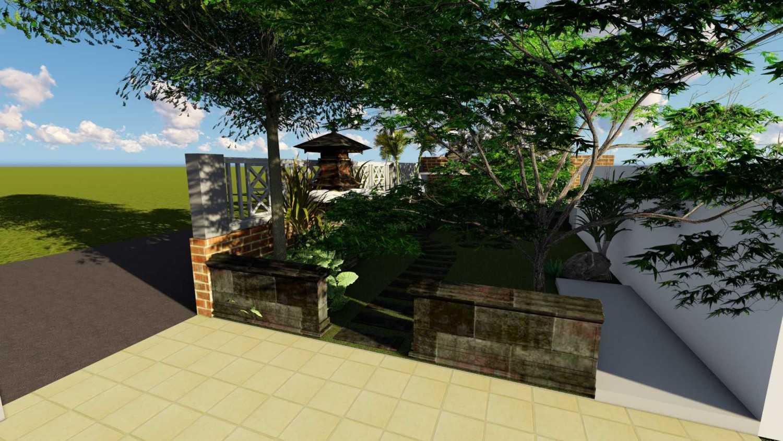Afina Rahmani Design & Built Balinese Garden Pulomas - Jakarta Timur Pulomas - Jakarta Timur 3D Taman Depan - 1  25509