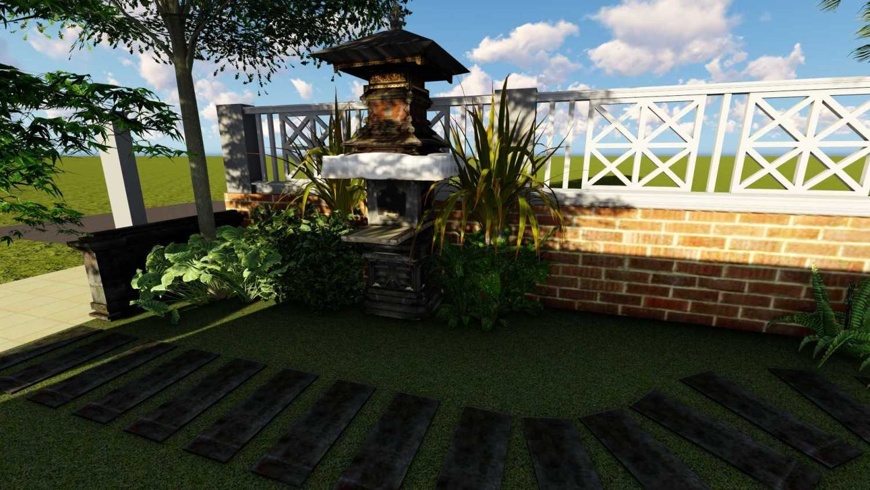 Afina Rahmani Design & Built Balinese Garden Pulomas - Jakarta Timur Pulomas - Jakarta Timur 3D Taman Depan - 3  25511