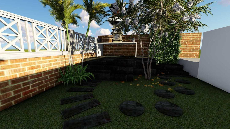 Afina Rahmani Design & Built Balinese Garden Pulomas - Jakarta Timur Pulomas - Jakarta Timur 3D Taman Depan - 4  25512