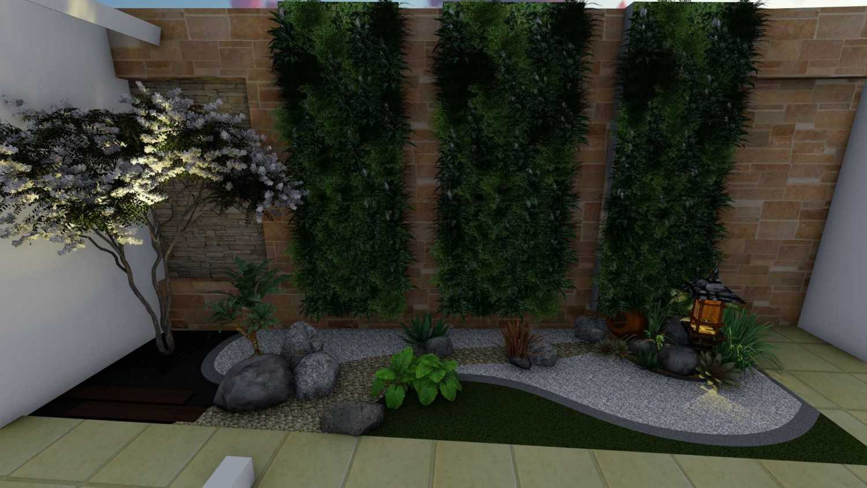 Afina Rahmani Design & Built Balinese Garden Pulomas - Jakarta Timur Pulomas - Jakarta Timur 3D Taman Belakang - 1  25513