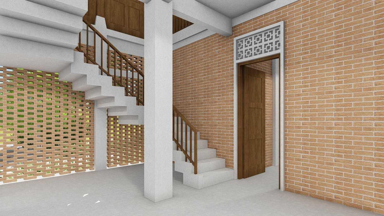 Foto inspirasi ide desain rumah tradisional Render-009 oleh IDZ Architecture di Arsitag
