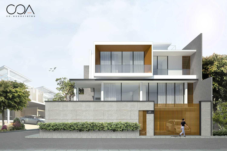 Co Associates Hp House Gading Kirana, Jakarta Gading Kirana, Jakarta Facade Minimalis 18108