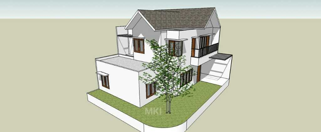 Mki Ub House Ciputat - Tangerang Selatan Ciputat - Tangerang Selatan 3D Design Facade Modern 17137