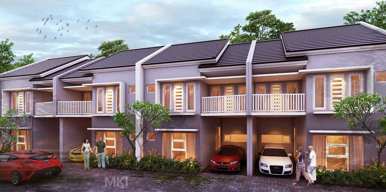 Mki Kj Residence  Jakarta, Indonesia Jakarta, Indonesia Design 3D Facade Depan Modern 17093