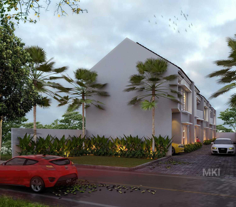 Mki Kj Residence  Jakarta, Indonesia Jakarta, Indonesia Design 3D Facade Samping Modern 17094