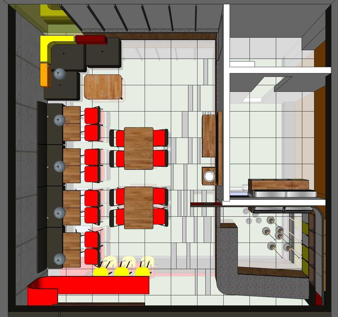 Mki Interior Rfc Plaza Pondok Gede - Bekasi Barat Plaza Pondok Gede - Bekasi Barat Layout Modern 20594
