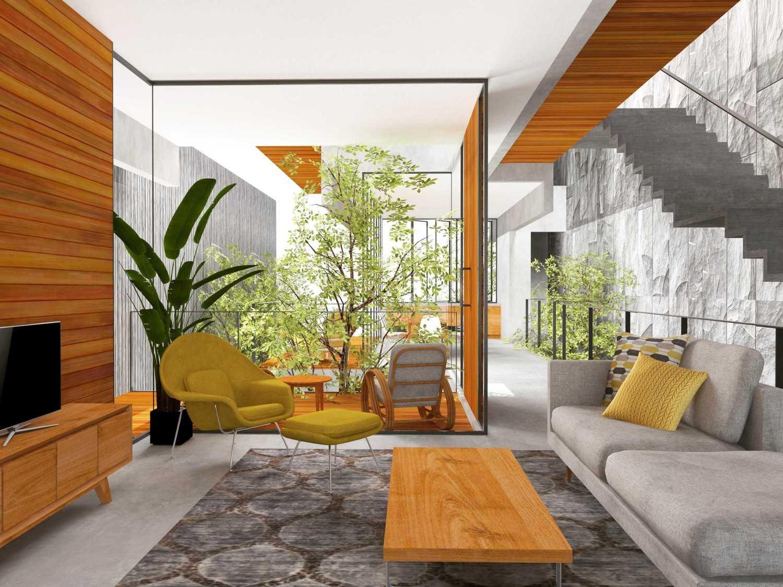 Tamara Wibowo The Duplex Semarang, Kota Semarang, Jawa Tengah, Indonesia Semarang, Kota Semarang, Jawa Tengah, Indonesia The Duplex - Living Room Modern 44770