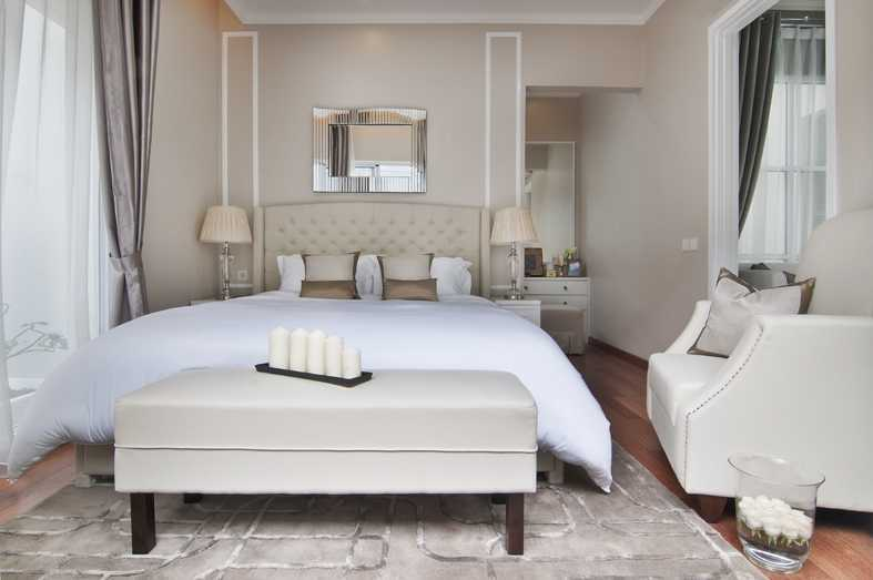 Foto inspirasi ide desain kamar tidur Bedroom oleh Cipta Desain Arsitektur Mandiri di Arsitag