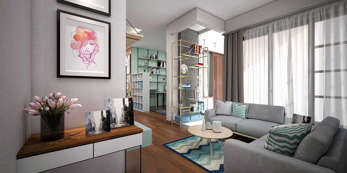 Vivame Design Simple Interior House 2 Lombok Lombok Foyer Modern 17309