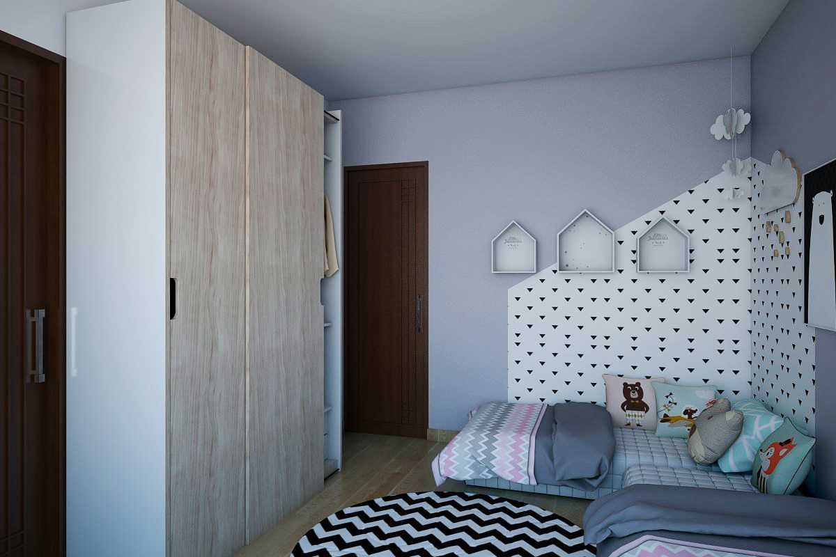 Vivame Design Simple Interior House 2 Lombok Lombok Kamar-Anak-2 Modern 17311