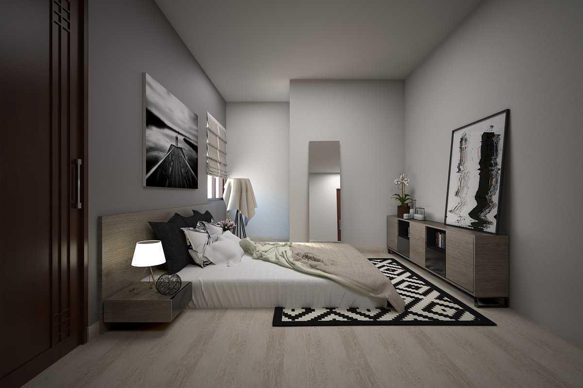 Vivame Design Simple Interior House 2 Lombok Lombok Kamar-Utama-2 Modern 17314
