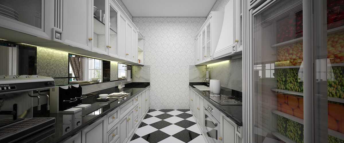 Foto inspirasi ide desain restoran klasik Kitchen oleh Vivame Design di Arsitag
