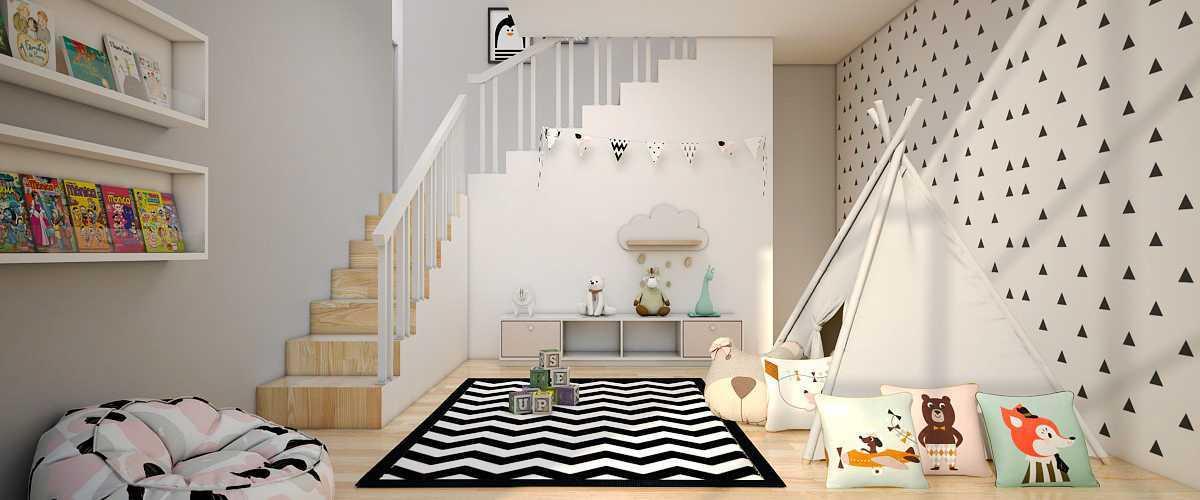 Vivame Design Griya Loka Jakarta, Indonesia  Kamar-Bermain-Anak Skandinavia 35706