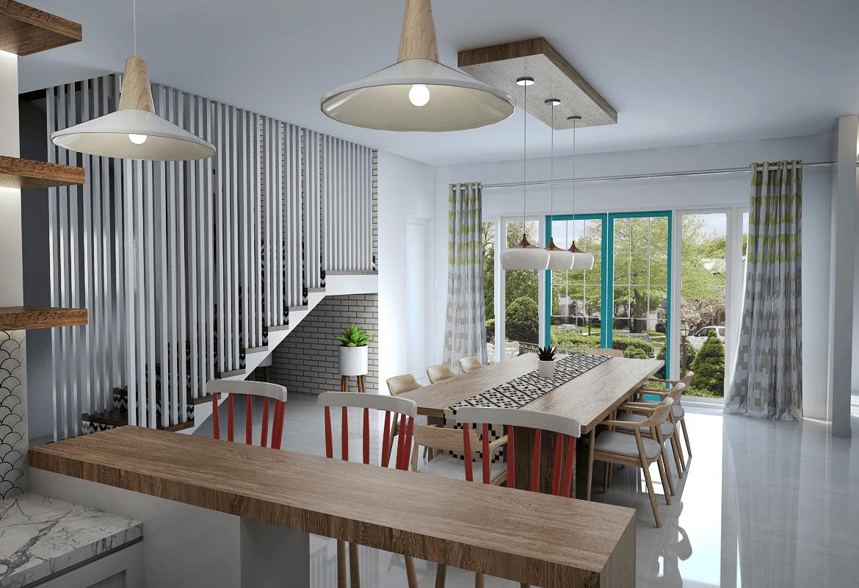 Vivame Design Griya Loka Jakarta, Indonesia  Ruang-Makan-4  35712