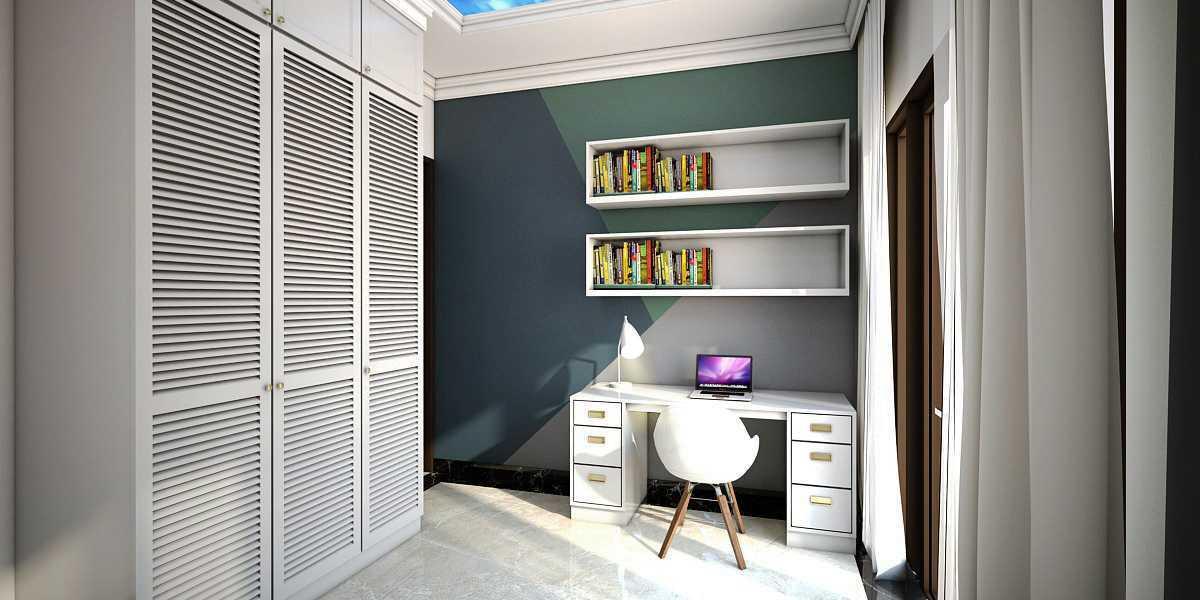 Foto inspirasi ide desain kamar tidur anak kontemporer Kamar-anak-laki-laki-2 oleh Vivame Design di Arsitag