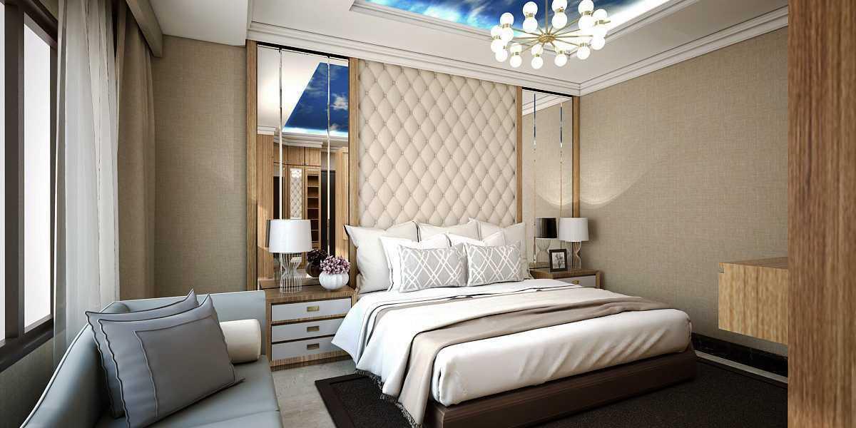 Vivame Design Giri Loka Jakarta, Indonesia  Render-Kamar-Utama Kontemporer 36056