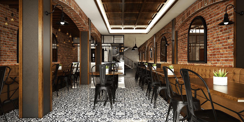Vivame Design Cafe Industrial Pulau Lombok, Nusa Tenggara Bar., Indonesia Pulau Lombok, Nusa Tenggara Bar., Indonesia Interior View Industrial 48414