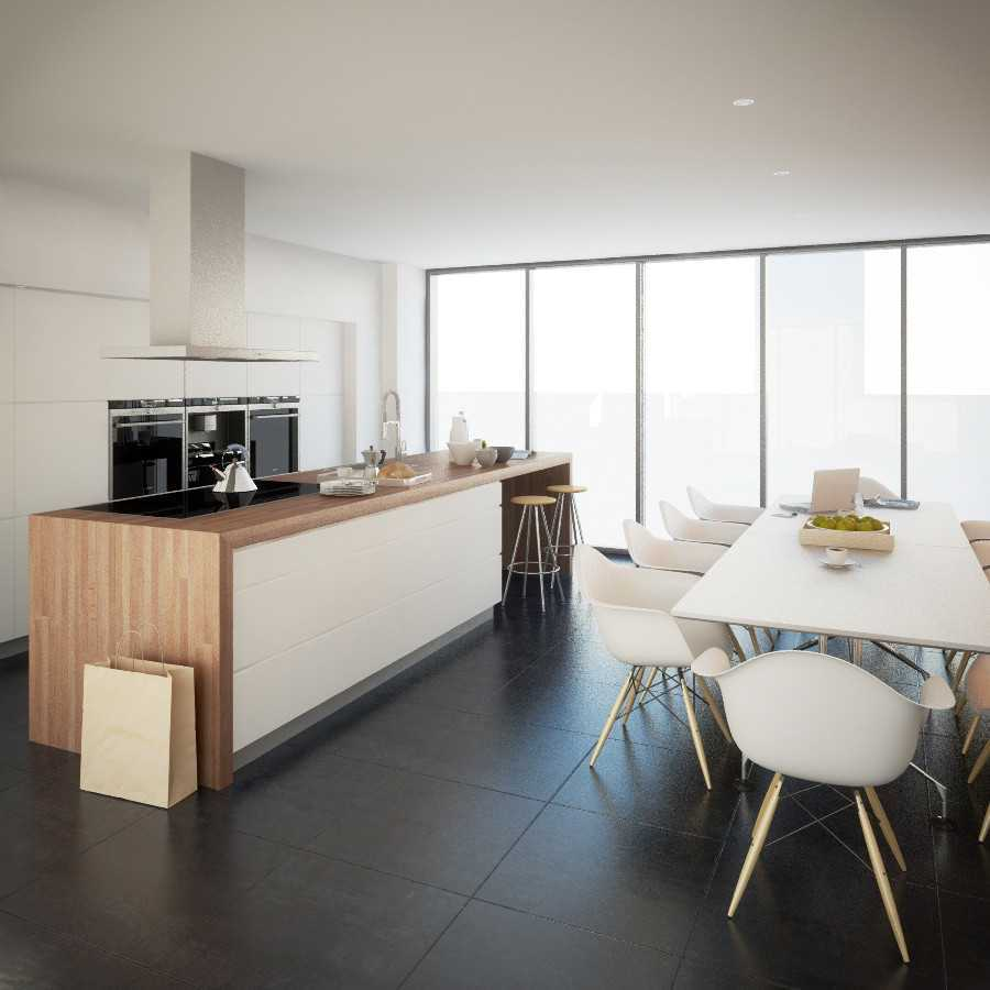 Jr Design Minimal Kitchen Bsd Serpong Bsd Serpong Kitchen And Dining Area Modern 30025