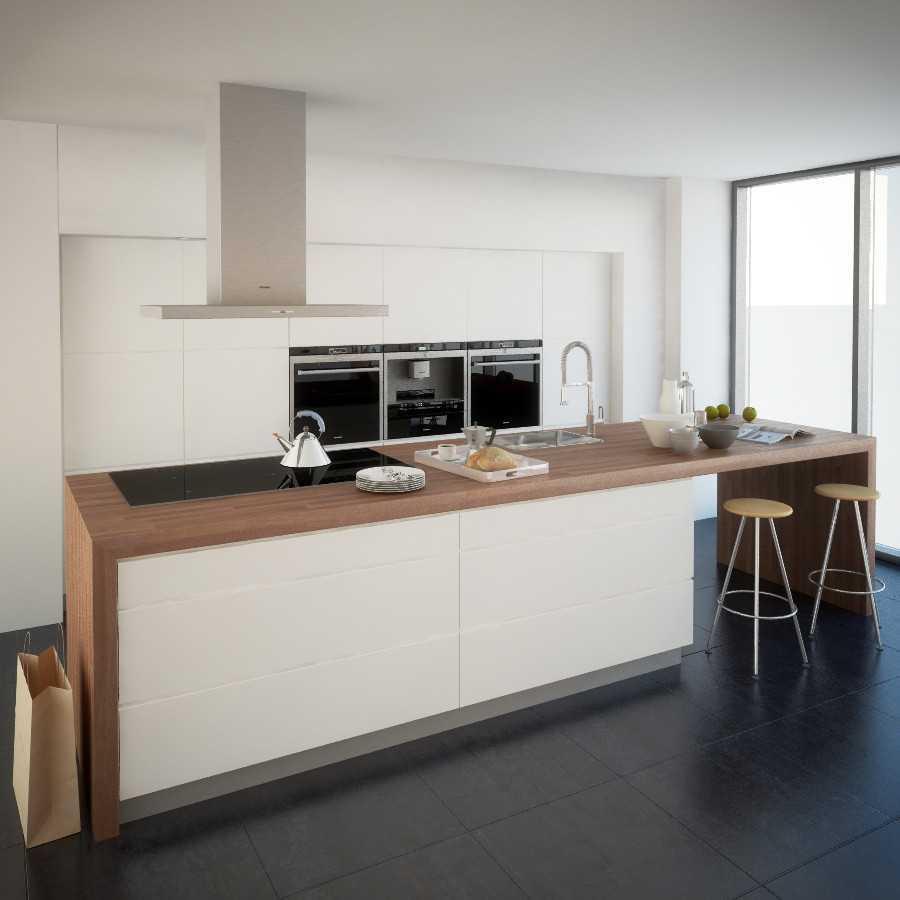 Jr Design Minimal Kitchen Bsd Serpong Bsd Serpong Kithen Area Modern 30026