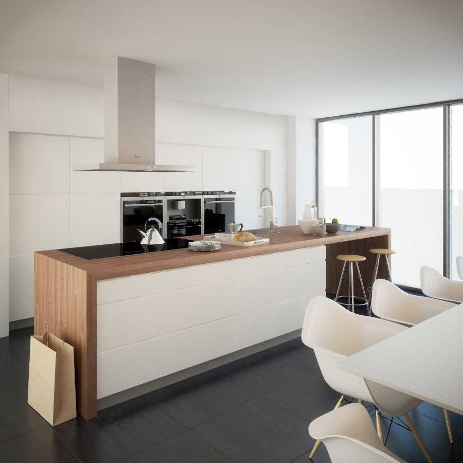 Jr Design Minimal Kitchen Bsd Serpong Bsd Serpong Kitchen Area Modern 30027