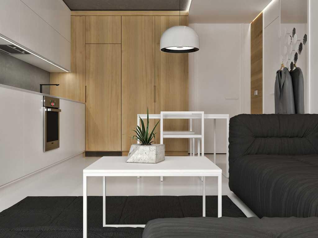 Jr Design Studio Apartment Jakarta, Indonesia Westmark Apartment Studio Apartment - Living Room Minimalis 30034