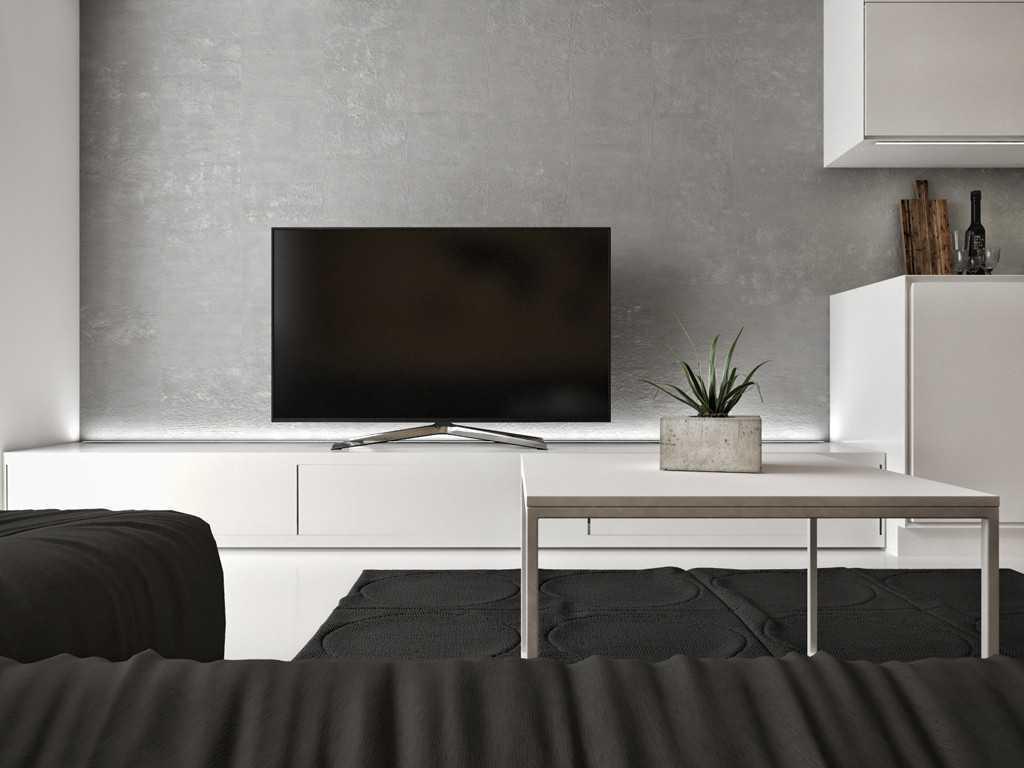 Jr Design Studio Apartment Jakarta, Indonesia Westmark Apartment Studio Apartment - Living Room Minimalis 30035