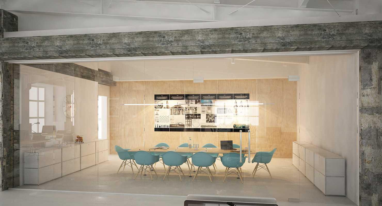 Foto inspirasi ide desain ruang meeting industrial Img0085 oleh JR Design di Arsitag