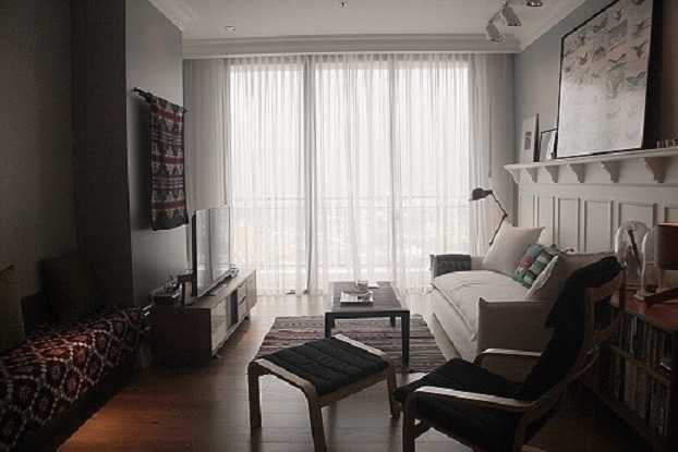 Foto inspirasi ide desain ruang keluarga skandinavia Img3805-e oleh DX Interior & Architecture di Arsitag