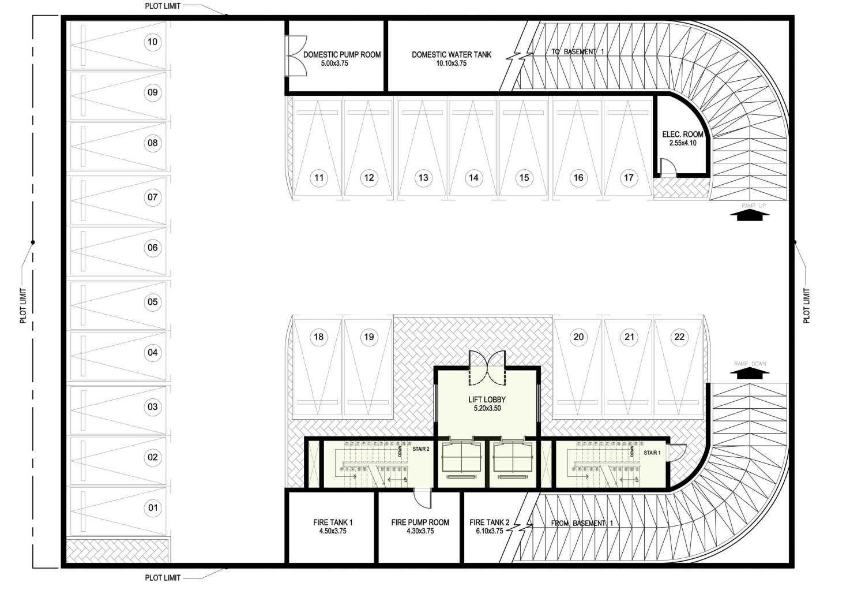Ayu Fatmawati Al Bandary Office Rawdat Al Khail, Doha , Qatar Rawdat Al Khail, Doha , Qatar 2Nd Basement Plan  17783