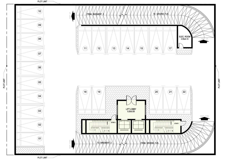 Ayu Fatmawati Al Bandary Office Rawdat Al Khail, Doha , Qatar Rawdat Al Khail, Doha , Qatar 1St Basement Plan  17784