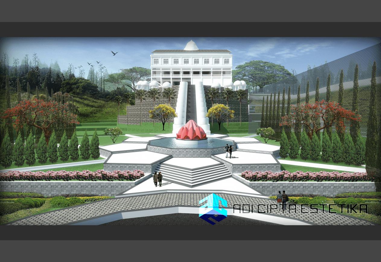 Adi Cipta Estetika The Nirwana Villas Medan Medan Lansekap-View-3  20314