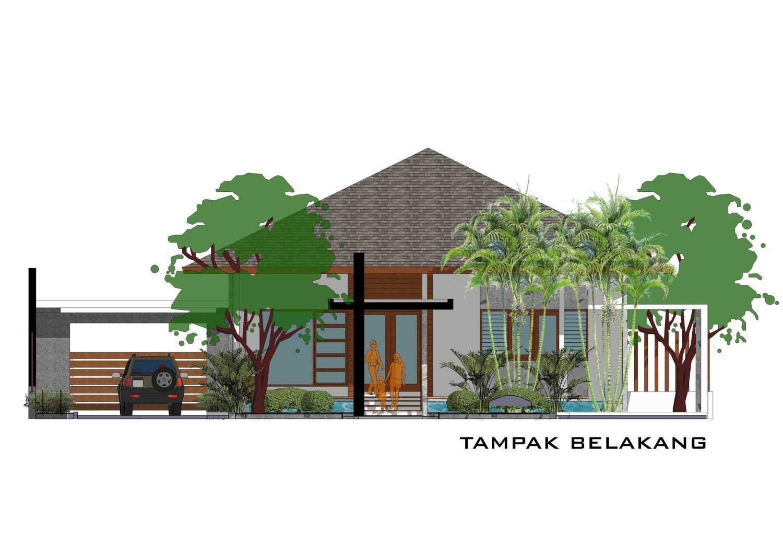 Adi Cipta Estetika Banjarmasin House  Banjarmasin, Kalsel Banjarmasin, Kalsel Tampak-Belakang Minimalis 20284