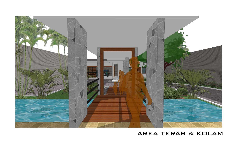 Adi Cipta Estetika Banjarmasin House  Banjarmasin, Kalsel Banjarmasin, Kalsel Area-Teras-Kolam Minimalis 20289