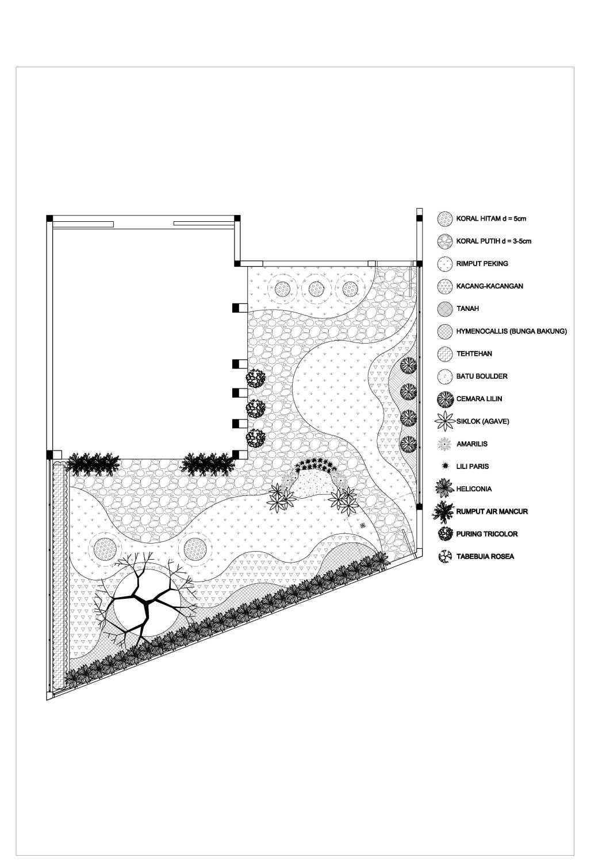 Adi Cipta Estetika Dago Pakar Residence Bandung Bandung Rumah-Dago-Pojok-Denah-Landscape  20302